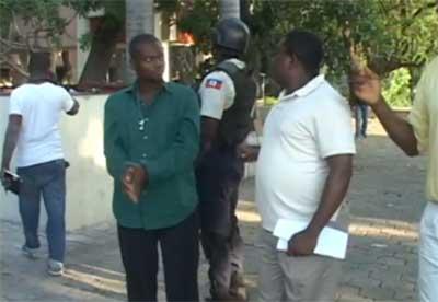 Membre de l'opposition apprehende