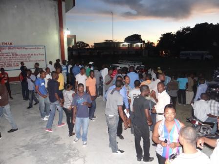 Etudiants en greve
