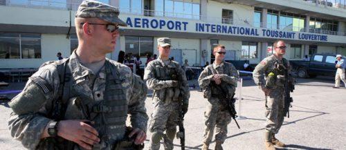 Militaire americains a Haiti - (c) lepoint