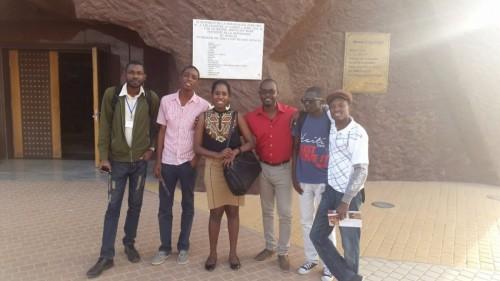 Les blogueurs haïtiens au Sénégal